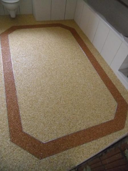 Steinteppich Dusche Geeignet : Steinteppich im Bad Wohnraum Creativ