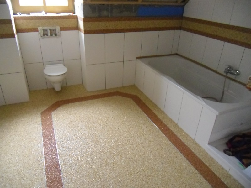 steinteppich bad dusche raum und m beldesign inspiration. Black Bedroom Furniture Sets. Home Design Ideas