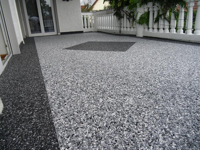 Steinteppich Fur Balkon Und Terrasse Wohnraum Creativ